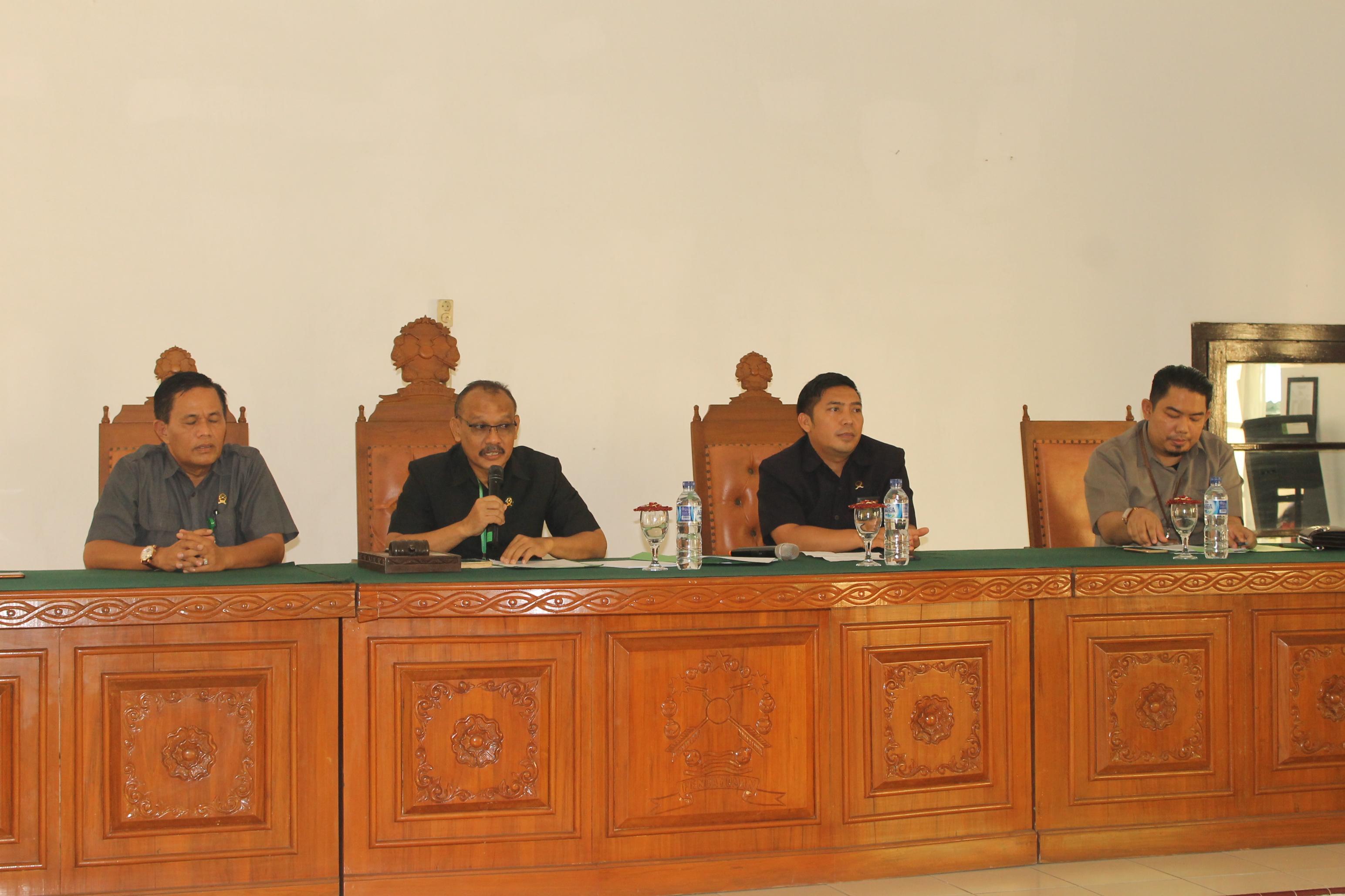 Pemaparan Hasil Pengawasan Oleh Tim Badan Pengawas MA di PN Tebing Tinggi