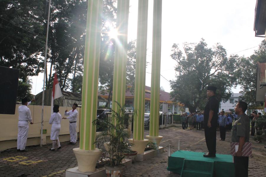 Upacara Bendera Dalam Rangka Peringatan Hari Lahir Pancasila Tahun 2018