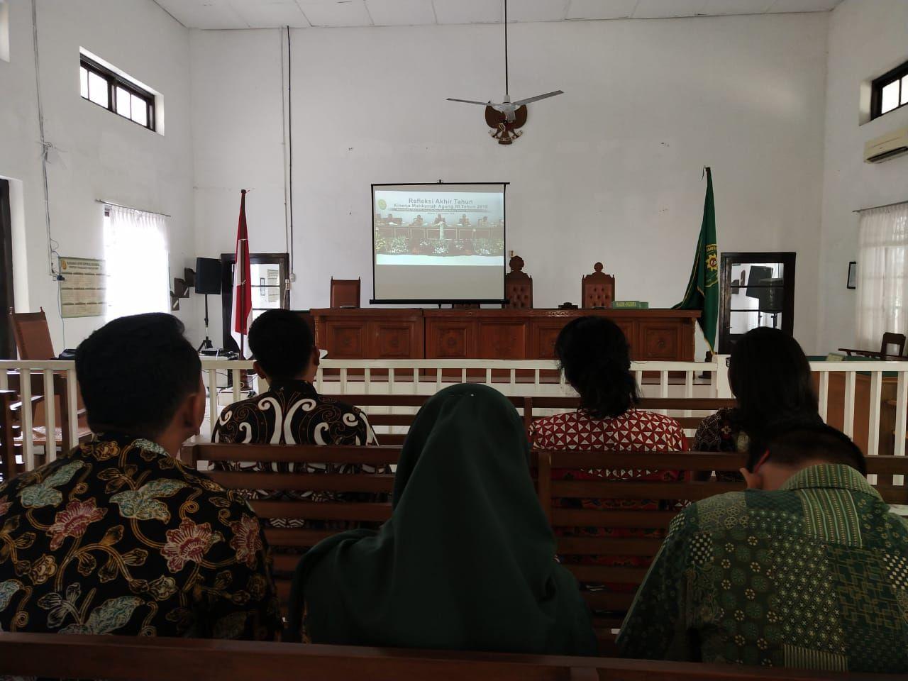 Siaran Langsung Refleksi Akhir Tahun 2018 Mahkamah Agung Republik Indonesia