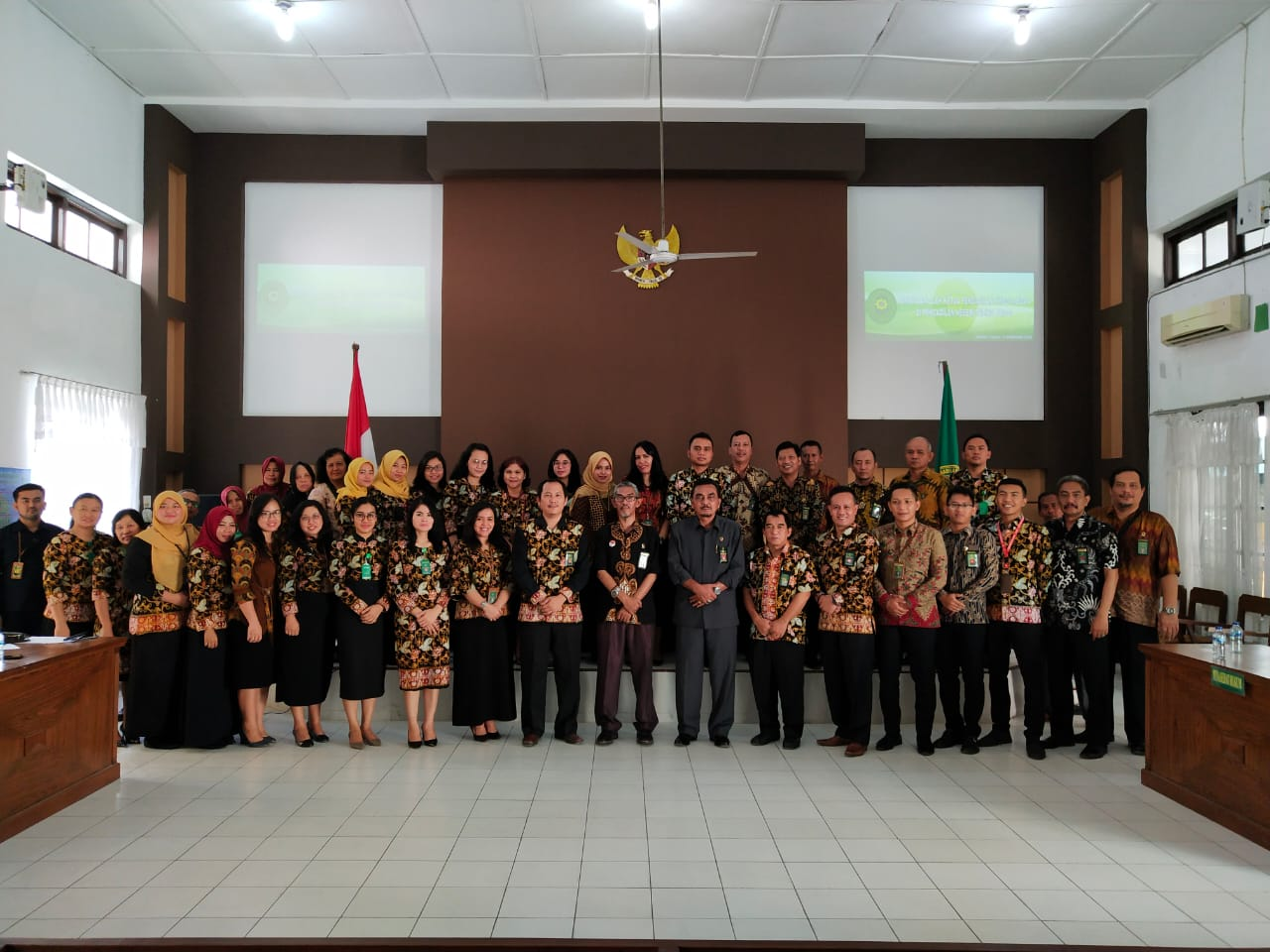 Kunjungan dan Pembinaan Ketua Pengadilan Tinggi Medan  di Pengadilan Negeri Tebing Tinggi