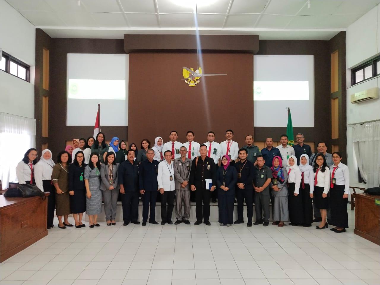 Assesment Surveillance Akreditasi Penjaminan Mutu Oleh Tim Akreditasi Penjaminan Mutu PT Medan  Pada PN Tebing Tinggi