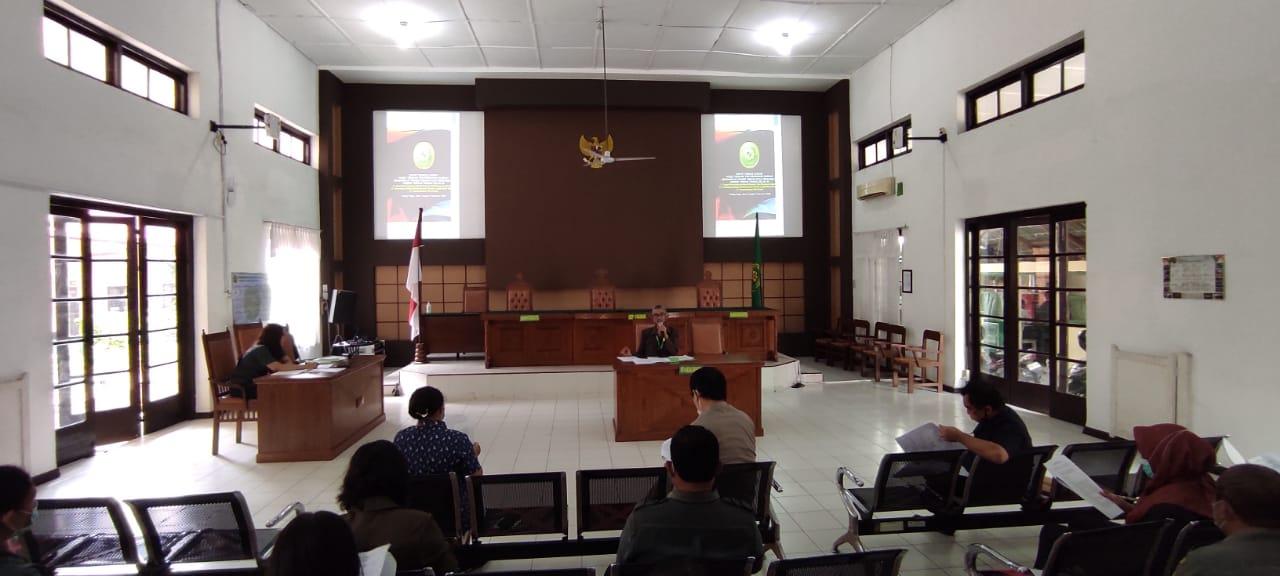 Rapat Hasil Tindak Lanjut Temuan Tim Survailance Akreditasi Penjaminan Mutu Pengadilan Tinggi Medan