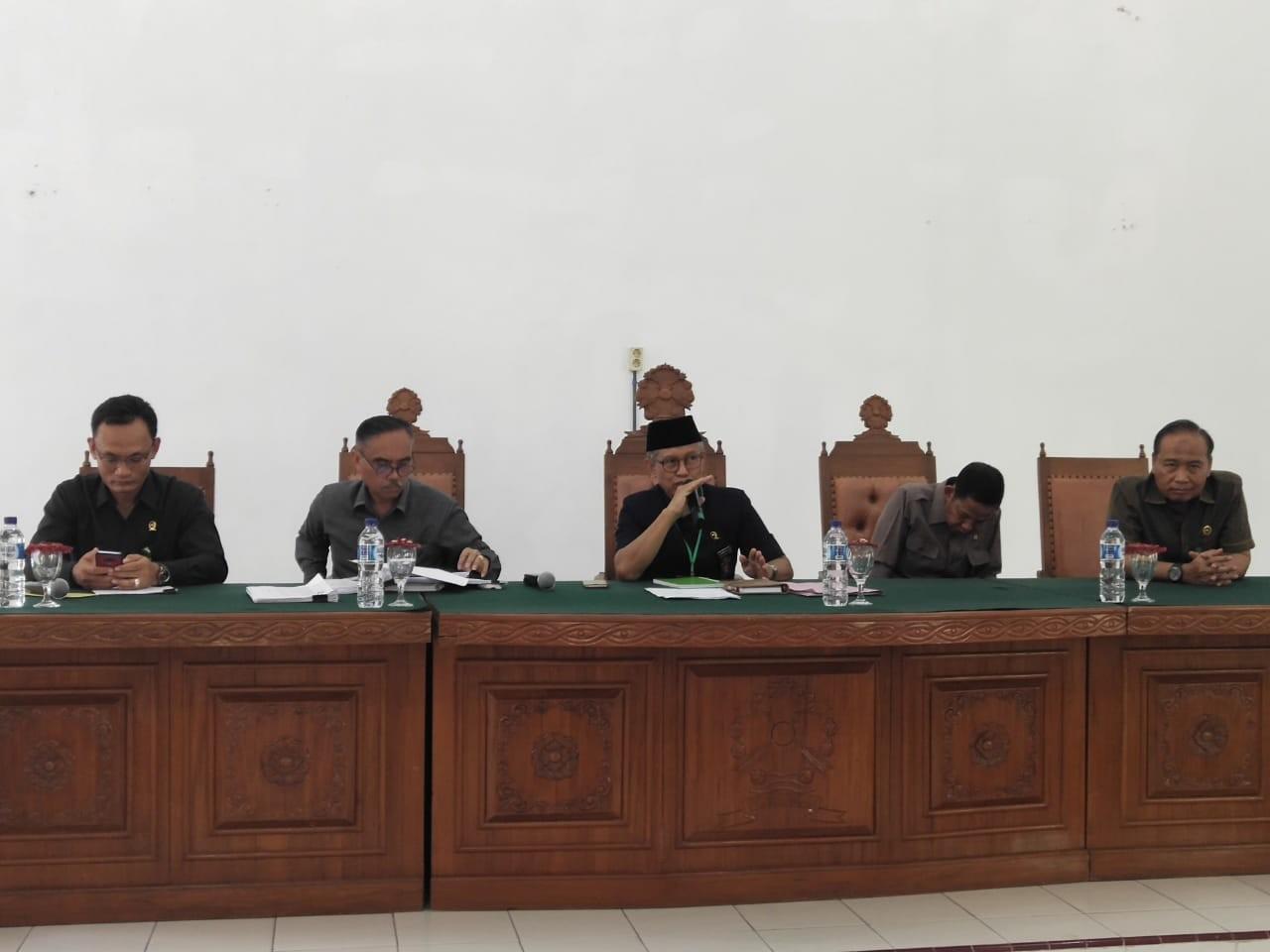 Pembinaan dan Pengawasan oleh Tim Pengadilan Tinggi Medan ke Pengadilan Negeri Tebing Tinggi