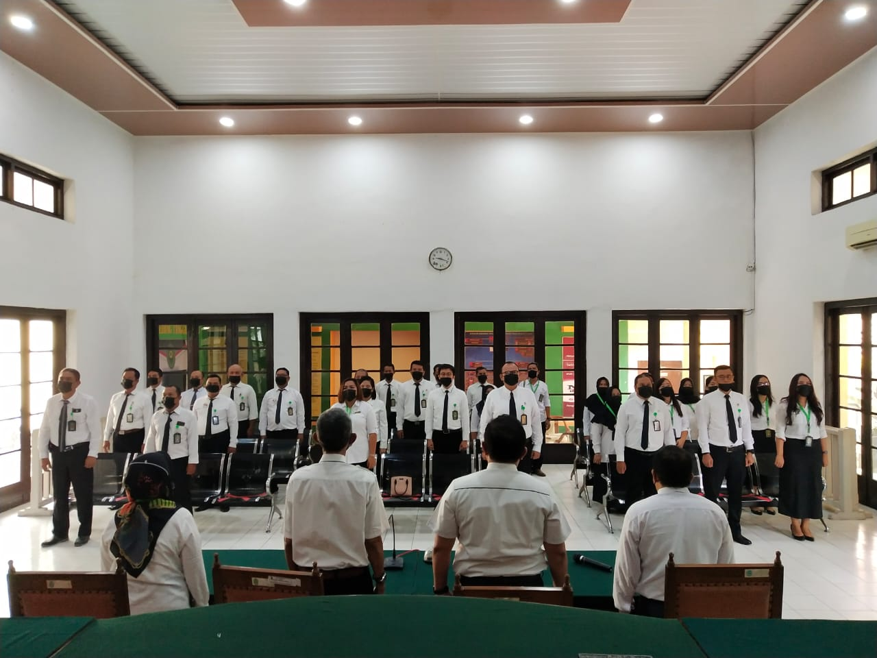 Penandatanganan Komitmen Bersama, Ikrar Bersama dan Pakta Integritas Pengadilan Negeri Tebing Tinggi Kelas I B