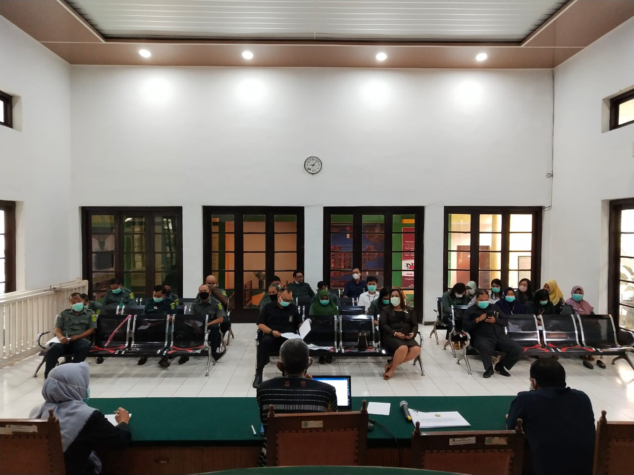 Rapat Monitoring dan Evaluasi Pembangunan Zona Integritas menuju Wilayah Bebas Korupsi (WBK) dan Wilayah Birokrasi Bersih Melayani (WBBM)